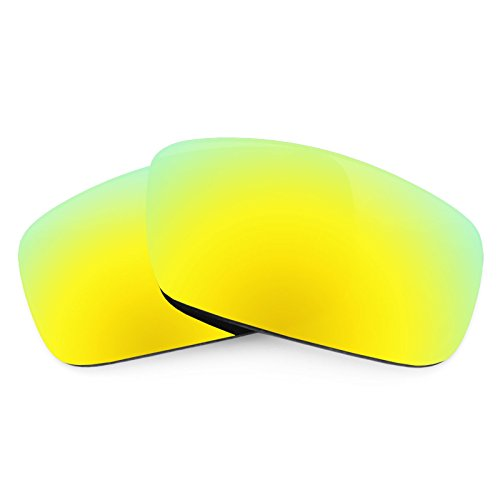 Revant Polarized Replacement Lenses for Spy Optic Logan Bolt Gold MirrorShield