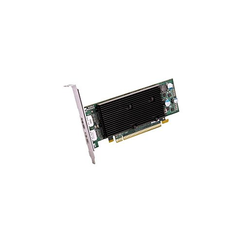 Matrox M9128 Graphic Card - 1 GB DDR2 SDRAM - PCI Express x16 - Low-profile - 2560 x 1600 - OpenGL 2.0, DirectX 9.0 - 2 x DisplayPort - 2 x Monitors Supported - FH Bracket
