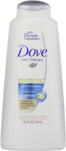 Dove Damage Therapy Daily Moisture Conditioner, 25.4 Ounce, Packaging May Vary (Pack of 2) ()