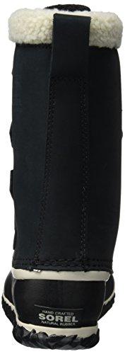 Neige Slim Caribou Bottes Sorel black Femme De Noir pCHaqx