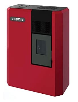 termostufa a Pellets Eva calor shardanas Losa Air 5,5 KW Burdeos Estufa: Amazon.es: Hogar