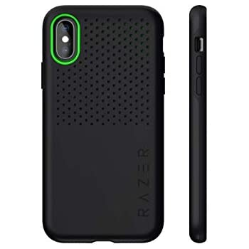 Razer Arctech Pro for iPhone Xs Max Case: Thermaphene & Venting Performance Cooling - Wireless Charging Compatible - Drop-Test Certified up to 10 ft - Matte Black - RC21-0145PB03-R3M1