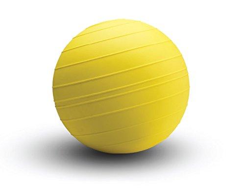 d-ballエリミネーター14インチヘックスキャップスクリューSlamボール – Non Bounce Super Heavy医学ボール – イエロー B00SW0JC36 125lb