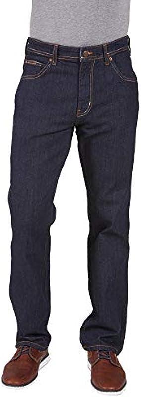 Wrangler elastyczne dżinsy firanki ARIZONA W12ORN452 Indigo: Wrangler: Odzież