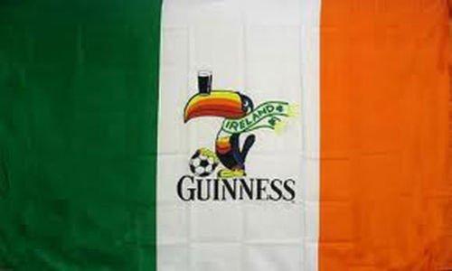 3Ftx5Ft Guinness Ireland Irish Flag Sign