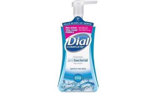 Dial Complete Foaming Antibacterial Hand Soap, 7.5 Oz, (Dial Antibacterial Hand Sanitizer Pump)