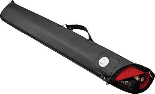 Casemaster Billiard/Pool Cue Soft Vinyl Case, Holds 1 Complete 2-Piece Cue (1 Butt/1 ()