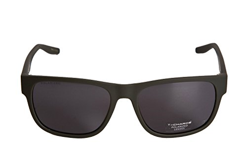 HickmannT-Charge Plastic Frame Men Sunglasses,Polarized (Matte Gray - T Sunglasses Charge