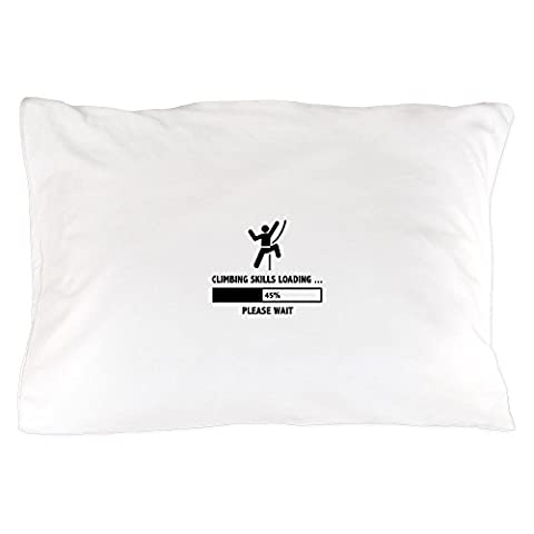 CafePress - Climbing Skills Loading - Standard Size Pillow Case, 20