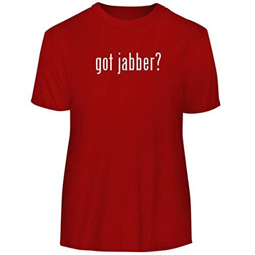 got Jabber? - Men's Funny Soft Adult Tee T-Shirt, Red, Medium -
