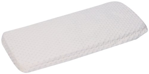 Baby Doll Bedding Minky Changing Table Cover, White (Covers Chenille Table)