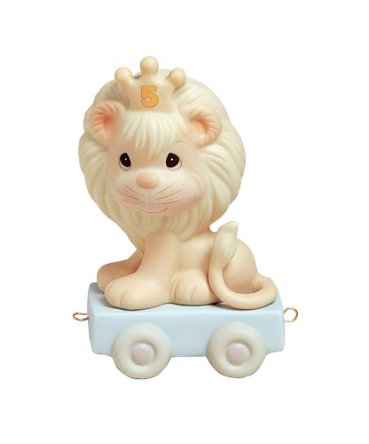 Precious Moments Birthday Train This Day Is Something To Roar About (4 Porcelain Age Figurine)