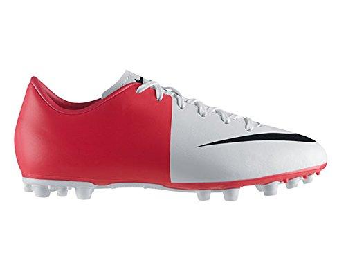 Mercurial Uomo Scarpe Calcio Nike Da Rosso Jr Bianco Ag Victory Iii 6x5qTw
