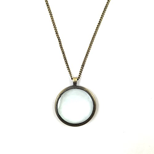 Altiplano Monocle Pendant Necklace Fair Trade Handmade in Guatemala ()
