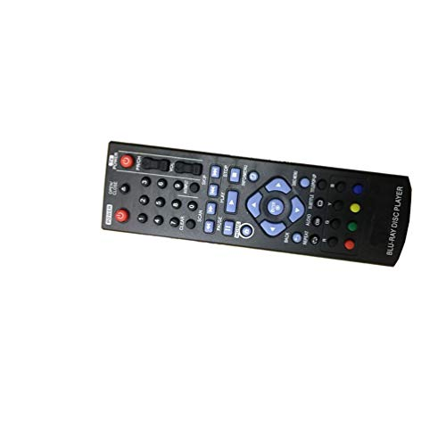 (Easy Replacement Remote Control Suitable for LG BP130 BP240 BP135 BD DVD Player)