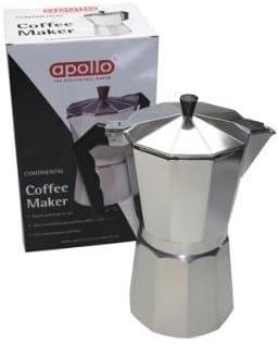 Apollo cafetera eléctrica 12 Tazas 700 ml: Amazon.es: Hogar