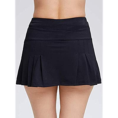 Women's Active Athletic Skort Lightweight Quick Dry Shorts Breathable Running Tennis Golf Workout Skirt with Pockets at Women's Clothing store