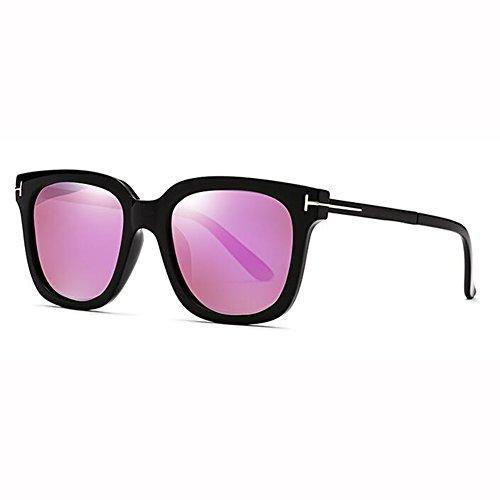 2 Polarizados Street Vidrios De Cara Hipster Caja Cuadrada Gafas Net Red xin Retro 5 Redonda Color WX Hembra Sol Grande Beat qBwnHT7Tx