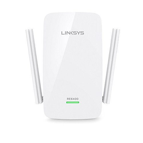 Linksys AC1200 Boost EX Dual-Band Wi-Fi Range Extender (RE6400) (Certified Refurbished)