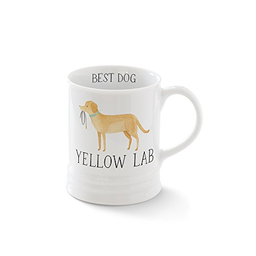 - FRINGE STUDIO Js Yellow Lab Georgia Mug, 12 liquid ounces (481478)