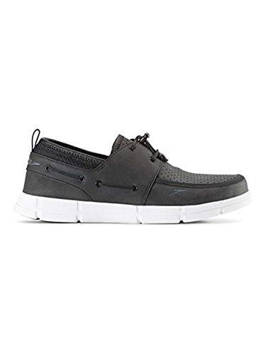 Speedo Mens Port Lightweight Breathable Water Boat Shoe (thirteen, Black/White) – DiZiSports Store