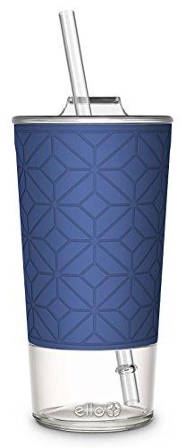 Ello Tidal Glass Tumbler Straw product image