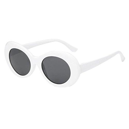 Unique en Soleil de Plastique A gris Lunettes Design DOLITY D blanc Unisexe Mode Pour La xIpF0BqwE