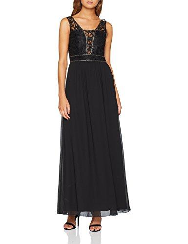 Black Nero Lace Little Vestito Maxi Donna Mistress AxZxnqS1