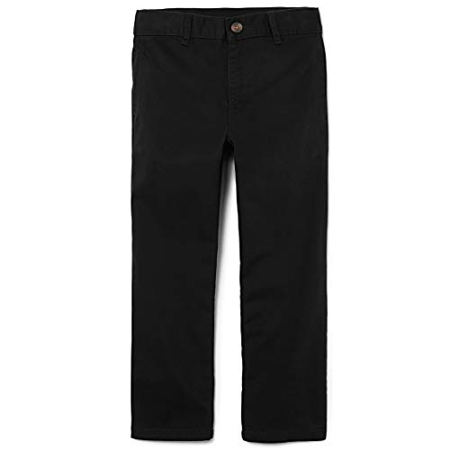 The Children's Place Little Boys' Chino Pant, Black, - Dress Black Boys