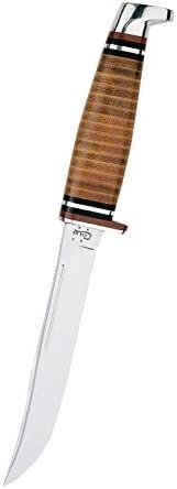Case Medium Leather Hunter Knife