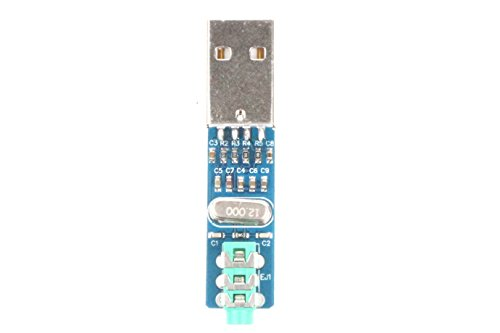 NOYITO USB DAC Decoder Board PCM2704 Mini USB Sound Card DAC Decoder Board - 5V USB Power by NOYITO (Image #4)