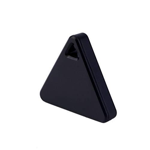 CNluca for Negro Inteligente Rastreador de Bluetooth Etiqueta de localizador Alarma para Bolsa de automóvil Mascotas Niño...