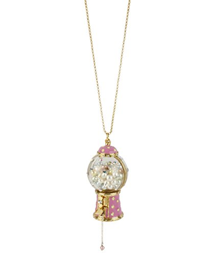 Betsey Johnson Candy Land Gumball Machine Long Necklace