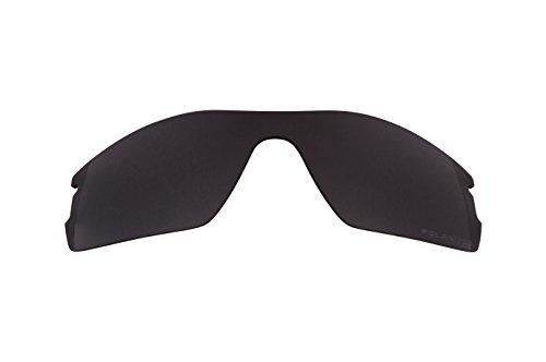 (Best SEEK OPTICS New Replacement Lenses for Oakley RADAR PITCH Black Iridium)