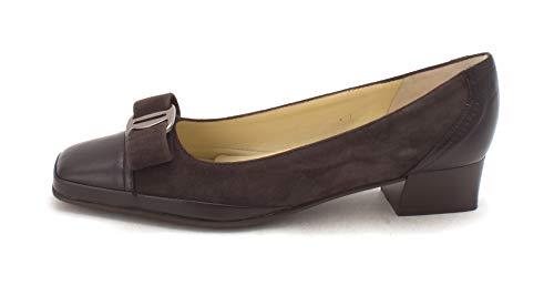 Amalfi by Rangoni Womens Mambo Leather Square Toe, Liquorice Cashmere, Size 6.0