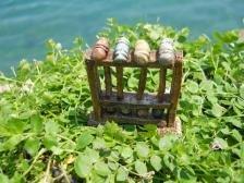 Miniature Fairy Garden Vintage Croquet Set