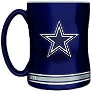 NFL Dallas Cowboys Sculpted Mug, 14-Ounce