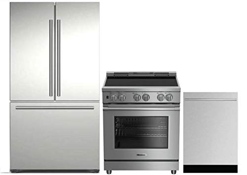 Blomberg 3-Piece Kitchen Package with BRFD2230SS 36