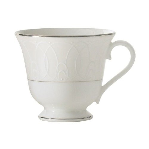 Waterford Platinum Espresso Cups - Waterford China Ballet Icing Pearl TEACUP, 6 OZ