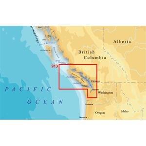 Magellan MapSend BlueNav XL3 Charts for Meridian Vancouver Island Saltwater Map microSD Card