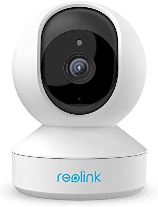 Wireless Home Security Camera, Reolink 4MP Indoor WiFi Camera System, 2.4ghz 5ghz Dual-Band Pet Camera, Pan Tilt Baby Monitor, 7 Day Free Cloud SD Card Storage, Two-Way Audio, Night Vision, E1 Pro