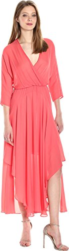 CATHERINE CATHERINE MALANDRINO Women's Larissa Dress, Watermelon Julep, 8 - Larissa Dress