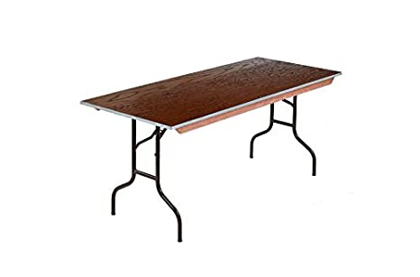 Amazoncom Midwest Folding Products 630e Plywood Table 30 X 72 X