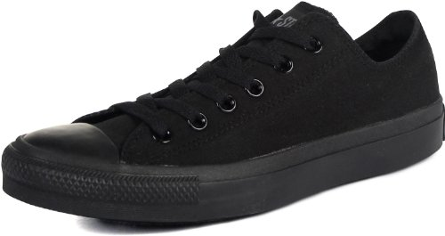 Converse Unisex Chuck Taylor All Star Ox Low Top Classic Black Mono Sneakers - 9 D(M) US
