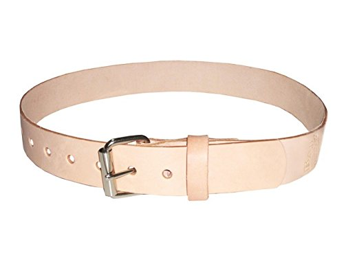 R&J Leathercraft 1-1/2'' Top Grain Work Belt w/ Roller Buckle - Large Fits 40 to 44 Inch Waists by R & J Leathercraft