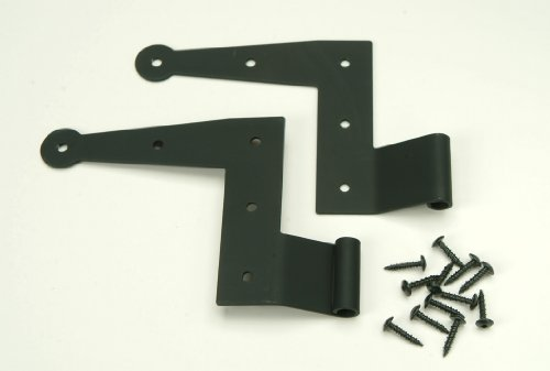 1/2' Offset 'L' Hinge for Exterior Shutters, Stainless Steel (Pair)