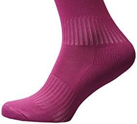 Raftaar Premium 2 Stripe Unisex Knee High Football Rugby Soccer Running Sport Socks Adult Youth Kids Sizes in