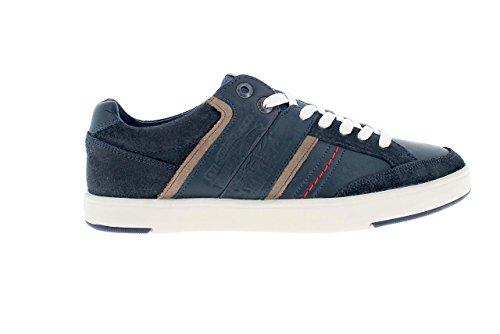 Marineblau Beyers Sneaker Weiß Herren Levi's wnB1UqWI8n