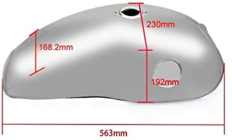 Komfort Sitzkissen f/ür Honda Shadow VT 600 C Tourtecs Air M