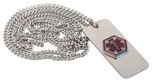 Apex Medical Emergency Necklace by Apex